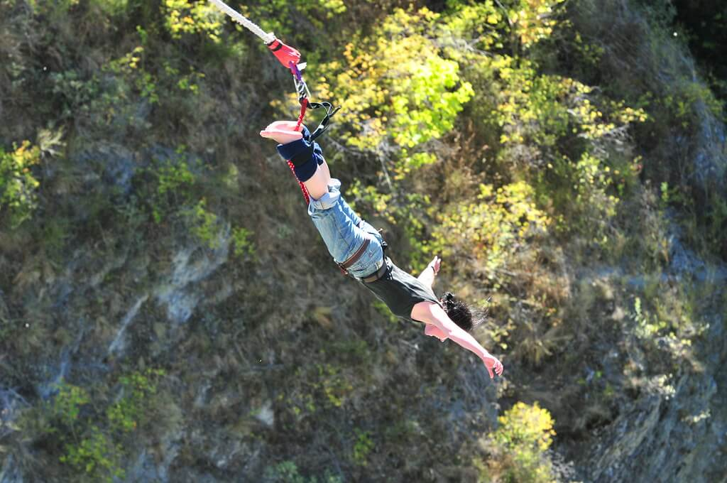 bunjee jumping in pokhara